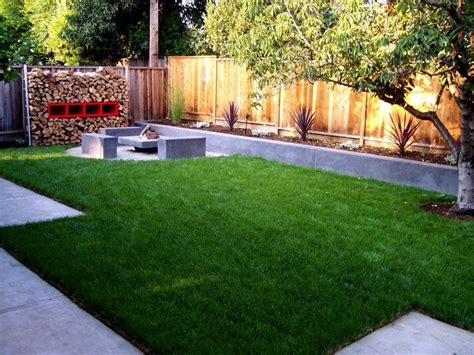 landscaping back yard simple landscaping ideas design