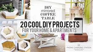 20 Cool Home decor DIY Project - YouTube
