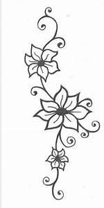 Simple flower tattoo/henna design …   henna ideas   Flower ...