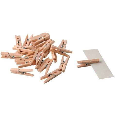objet en pince a linge en bois mini pince a linge bois sachet de 48 pw international vente de bois pour travaux manuel