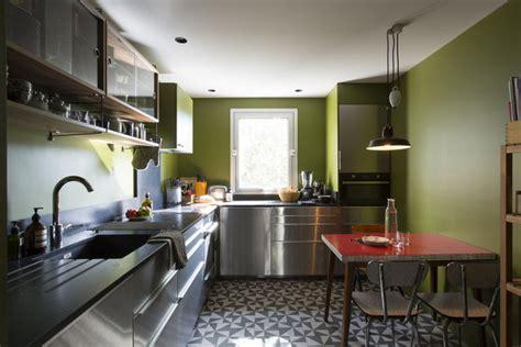 gres cerame plan de travail cuisine aménagement de cuisine galerie photos de dossier 17 380