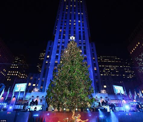 when is the christmas tree lighting nyc rockefeller center christmas lights turned on with help