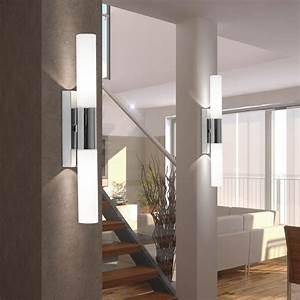 Led Spots Badezimmer : led wand spot leuchte badezimmer leuchte ip44 k chen flur ~ Lateststills.com Haus und Dekorationen