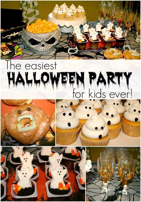 Easiest Kids' Halloween Party Ever!  A Turtle's Life For Me