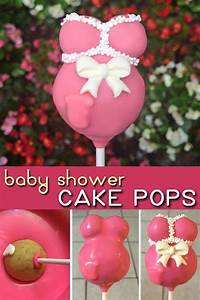 Cake Pop Form : these pregnant belly cake pops are the perfect treat or party favor for a baby shower with this ~ Watch28wear.com Haus und Dekorationen