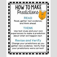 Making Predictions Activities And Task Cards By Think Grow Giggle