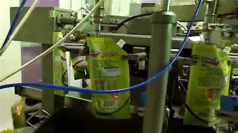 maquina envasadora  bolsas preformadas tipo doy pack