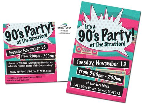 90s invitation template 90 s 90 s themed 21st birthday 90s invitation templates and