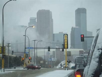 Minneapolis Minnesota Weather Cold Polar Air Fog