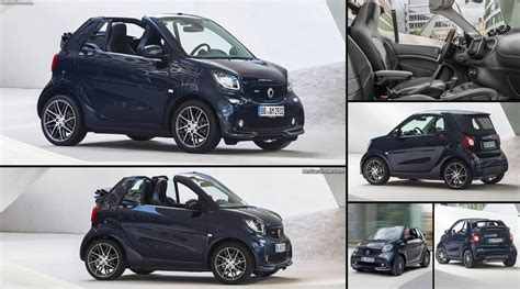 brabus smart fortwo cabrio  pictures information