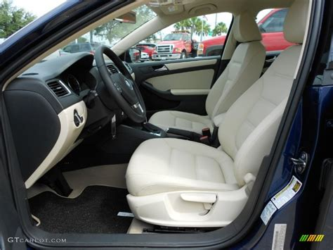 Cornsilk Beige Interior 2012 Volkswagen Jetta Se Sedan