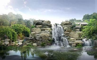 Waterfall Japan Digital Wallpapers