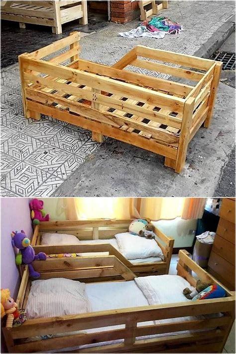 wood pallets toddler bed pallet toddler bed diy toddler