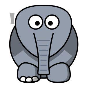 crippled elephant png svg clip art  web