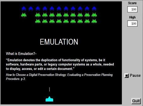 Imitation And Emulation