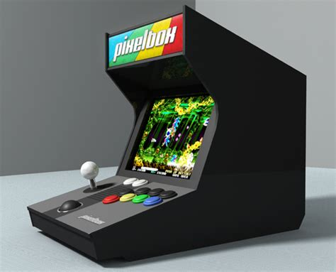 Mini Mame Arcade Cabinet Kit by Pixelbox Fantastic Micro Mame Cabinet By Vance Fry
