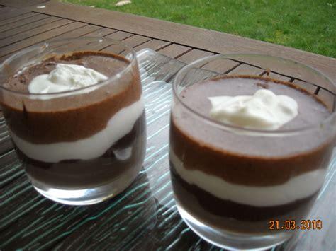 verrine mascarpone chocolat