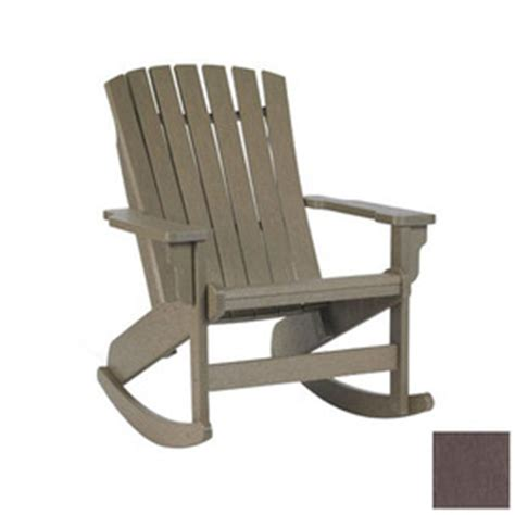 shop siesta furniture westport brown plastic slat seat