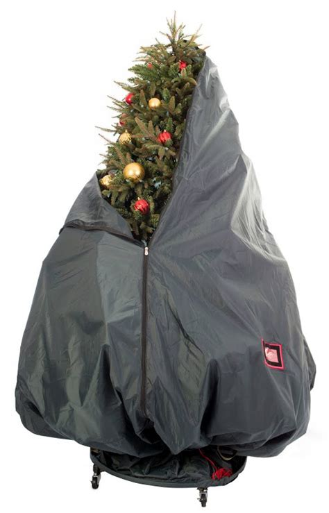 christmas tree covers for storage upright christmas tree storage bag with stand in christmas 6308