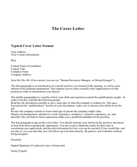 sample  cover letters   ms word excel