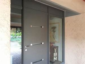 Porte Entrée Aluminium Rénovation : installation de portes et fen tres par la menuiserie r mex ~ Premium-room.com Idées de Décoration