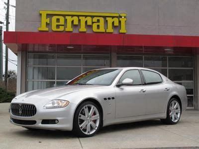 Sell Used 2009 Maserati Quattrporte Performance Luxury