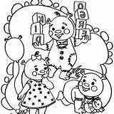 Coloring Pages Triplets Baby Babies Shrek Ogre Little sketch template