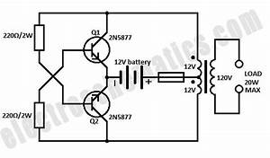 I U0026 39 M Yahica  6v To 220v Inverter Circuit Diagram