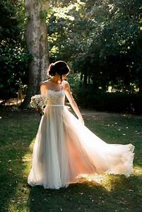 60 romantic and airy flowy wedding dresses happyweddcom With light flowy wedding dresses