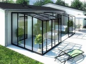 Veranda Rideau Pergola : jolie d co v randa rideau outside house with porch verandas et glass room ~ Melissatoandfro.com Idées de Décoration