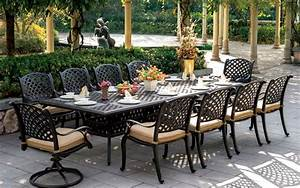 Cast aluminum vintage cast aluminum outdoor furniture for Cast aluminum patio furniture