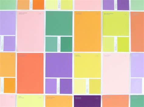 Paint Swatch Wall Art - Elitflat
