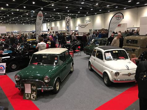 See Us At Our Stand At The London Classic Car Show 2018