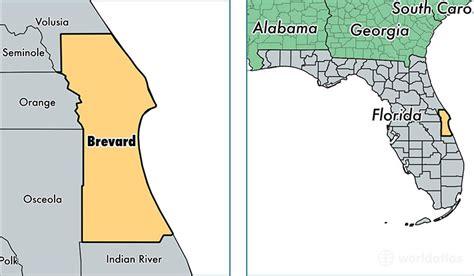 brevard county florida map brevard county fl brevard