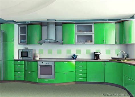 Green Kitchen Cabinet Doors by Pictures Of Kitchens Modern Green Kitchen Cabinets