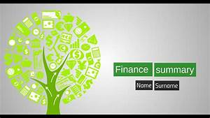 The best prezi template for finance presentation - YouTube