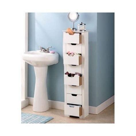 slim bathroom storage cabinet bathroom storage cabinet slim white 8 drawer tall