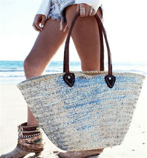 sac de plage tendance quel sac de plage pour cet 233 t 233 id 233 es en 57 photos