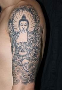 Signification Des 6 Bouddhas : 1001 id es tatouage symbole bouddhiste empreint de sagesse ~ Melissatoandfro.com Idées de Décoration