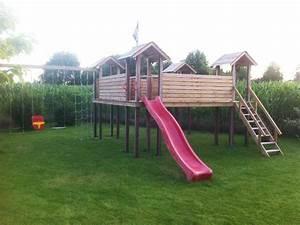 Portique De Jeux : module jeu portique bois enfant bouvignies wood ~ Melissatoandfro.com Idées de Décoration