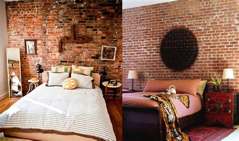 bedroom wallpaper brick 15 picture enhancedhomes org