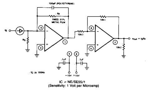 Current Voltage Converter Circuit Diagram Electronic