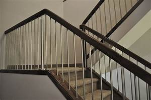 Steel Handrail For Modern Stairs Designs » Home