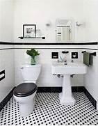 Retro Tile Bathroom by 31 Retro Black White Bathroom Floor Tile Ideas And Pictures