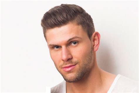 hairstyle pria muka bulat fresh hair cut