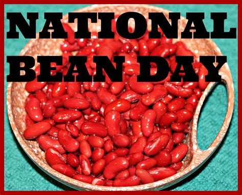 national bean day photo