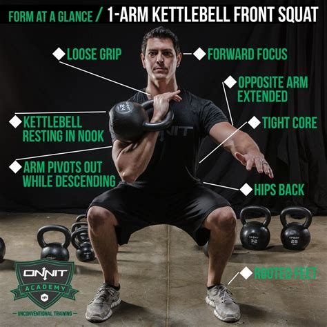 kettlebell squat front form onnit squats arm hand fitness glance workout core strength workouts motivation exercises exercise crossfit kettlebells training