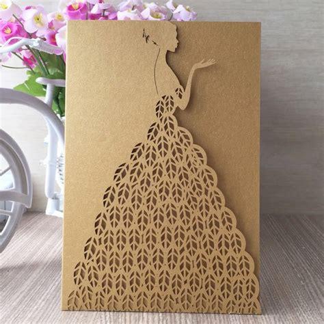 12pcs /lot royal wedding invitation card for wedding paper