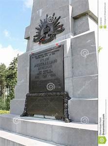 Plaque on WW1 Australian 5th Division memorial, Polygon Wood