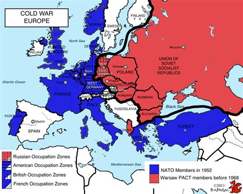blank map europe cold war
